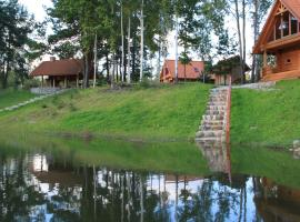 Holiday home by the River Bārta