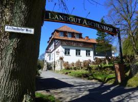Hotel Landgut Aschenhof, Suhl (Benshausen yakınında)