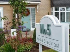 No.5 Bed & Breakfast, Kilcullen (рядом с городом Martinstown Cross Roads)
