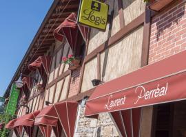 Hotel Restaurant Laurent Perreal, Attignat (рядом с городом Confrançon)
