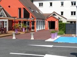 Hotel Arbor - Auberge de Mulsanne - Le Mans Sud, Мюлзан