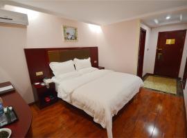 GreenTree Inn Shandong Heze Dongming Train Station Express Hotel, Dongming (Zhuangzhai yakınında)