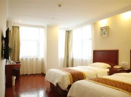 GreenTree Inn JiangSu NanTong HuiDa Square YueJiang Road Express Hotel, Nantong (Rengang yakınında)