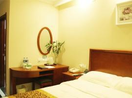 GreenTree Inn Tianjin Wuqing West Yongyang Road Florentia Village Express Hotel, Wuqing (Dadunqiu yakınında)