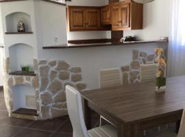 Haut villa Bravone, Cateraggio