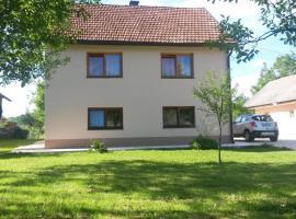 Apartment Prozor, Оточац (рядом с городом Krasovčevo Selo)