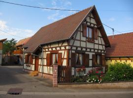 Gite Clémentine, Griesheim-près-Molsheim (рядом с городом Krautergersheim)