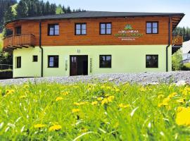 Wellness hotel Sauna, Malá Morávka (Karlov yakınında)