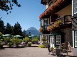 Alpenhotel Gösing, Gösing an der Mariazeller Bahn (Wienerbruck yakınında)