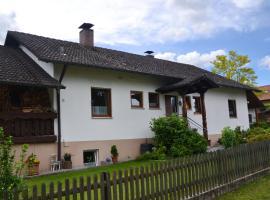 Ferienwohnung Seebauer, Ramspau (Nittenau yakınında)