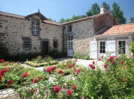 Le Gîte du Vieux Château, Le Poiroux (рядом с городом Grosbreuil)