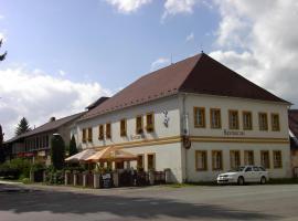Pension a restaurace Rudolec, Český Rudolec (Dačice yakınında)