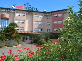Hotel Abor, Saint-Pierre-du-Mont (рядом с городом Bretagne-de-Marsan)