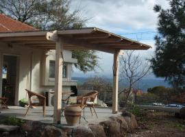 Lovely home above the Kinneret
