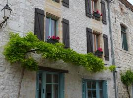 Pretty Bastide Town house, Tournon-d'Agenais (рядом с городом Anthé)