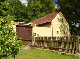 Pension U Starýho Dubu, Jindrichuv Hradec (Rodvínov yakınında)