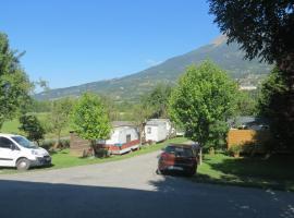 Camping la Tour, Эмбрён (рядом с городом Les Clots)