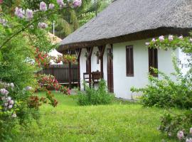 Nádfedeles vendégházak, Tiszadorogma (рядом с городом Egyek)