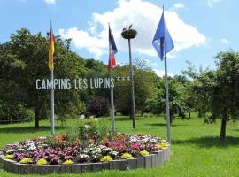 Camping Les Lupins, Seppois-le-Bas (Beurnevésin yakınında)