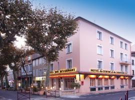 Hotel Restaurant du Centre et du Lauragais, Кастельнодари (рядом с городом Villeneuve-la-Comptal)