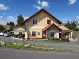 Pension Kamenný Dvůr, Františkovy Lázně (Nebanice yakınında)