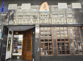 Hotel Villa De Ribadeo alojamiento de 1 estrellas