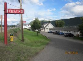 ValleyView Motel, Williams Lake (Lac la Hache yakınında)