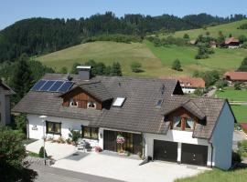 Ferienwohnung Lydia Schaeck, Oberharmersbach (Waldhäuser yakınında)