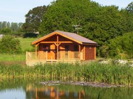 Watermeadow Lakes & Lodges, North Perrott (рядом с городом West Chinnock)