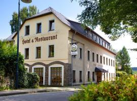 Hotel & Restaurant Kleinolbersdorf, Chemnitz (Augustusburg yakınında)