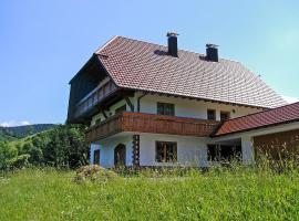 Apartment Kempfenhof, Oberharmersbach (Waldhäuser yakınında)