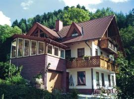Apartment Schnaiter, Oberharmersbach (Waldhäuser yakınında)