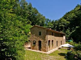Locazione turistica Vecchio Mulino di Vinci.1, Vitolini (San Giusto yakınında)