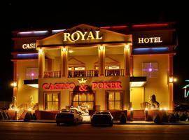 Hotel und Casino Royal Admiral, Česká Kubice