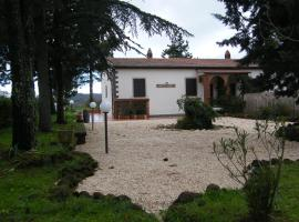 I poggi, Sorano (Montorio yakınında)