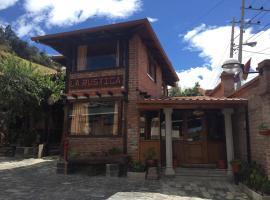 La Rustica Hotel, Guaranda (Salinas yakınında)