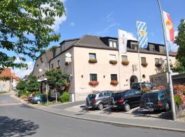 Hotel Gasthof Vogelsang, Zellingen (Thüngersheim yakınında)