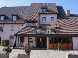 Gasthof Krone, Ötisheim (Maulbronn yakınında)