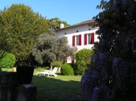A L'Olivier, Montcaret (рядом с городом Flaujagues)