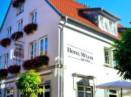 Hotel Müller Café & Wein, Veitshöchheim (Thüngersheim yakınında)