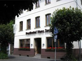 Posthotel Hans Sacks, Montabaur (Oberelbert yakınında)