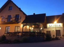 Penzion a restaurace Lemberk, Jablonné v Podještědí (Petrovice yakınında)