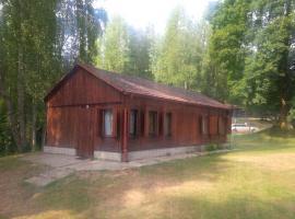 """Lesní chaty """"Hogo Fogo"""", Kytlice (Rousínov yakınında)"""