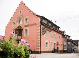 Landgasthof Hotel Rebstock, Stühlingen (Neunkirch yakınında)