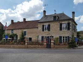 Gîte de Fontenille, Brosses (рядом с городом Châtel-Censoir)