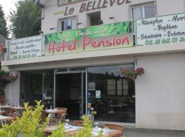 Le Bellevue Lisieux, Лизьё (рядом с городом Hermival-les-Vaux)