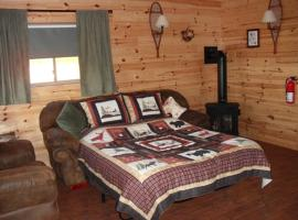Cabins on the Bluff, Clam Gulch