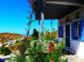Villa Maria in Tinos - Eva House, Tripótamos (рядом с городом Kariá)