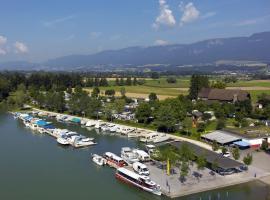 TCS Camping Solothurn, Solothurn (Lohn-Ammannsegg yakınında)