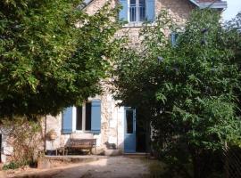 La Maison Bleue, La Gonterie-Boulouneix (рядом с городом La Negrerie)